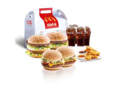 منيو التوصيل من ماكدونالدز في شميساني طلبات